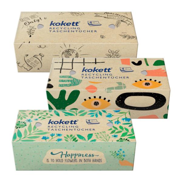 KOKETT     Recycling Taschentücher-Box
