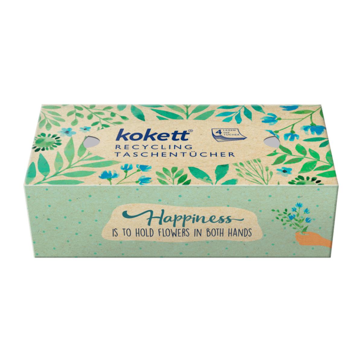 Bild 3 von KOKETT     Recycling Taschentücher-Box