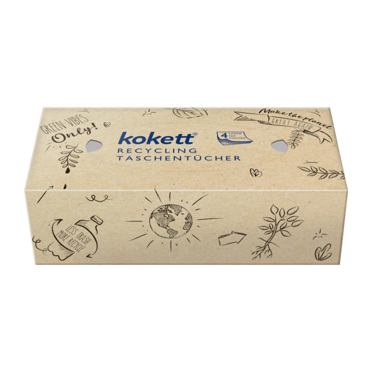 Bild 4 von KOKETT     Recycling Taschentücher-Box