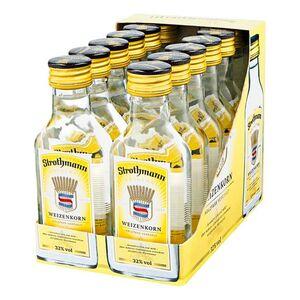 Strothmann Weizenkorn 32,0 % Vol. 100 ml, 12er Pack