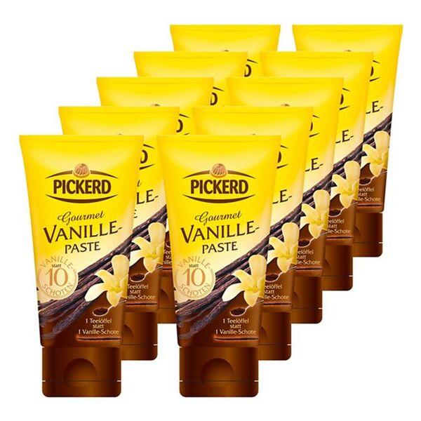 Pickerd Gourmet Vanille Paste 50 g, 10er Pack