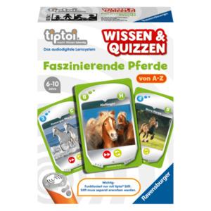 Ravensburger Tiptoi Wissen & Quizzen: Faszinierende Pferde