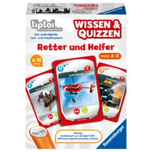 Ravensburger Tiptoi Wissen & Quizzen: Retter und Helfer
