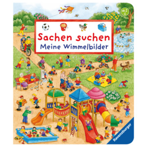 Ravensburger Kinderbuch Sachen suchen: Meine Wimmelbilder
