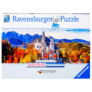 Ravensburger Puzzle Schloss in Bayern 1000 Teile