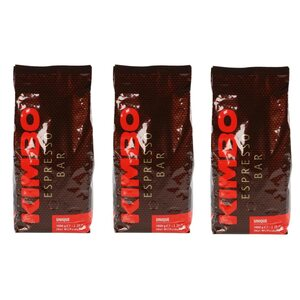 Kimbo Unique, Espressobohnen, 3kg (3 x 1kg)