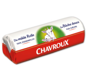 CHAVROUX Ziegenkäserolle