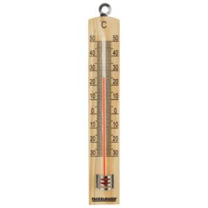 Fackelmann Tecno Holz-Thermometer 18cm