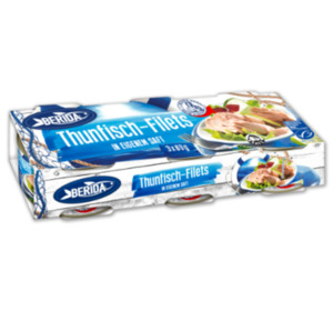 BERIDA Thunfisch-Filets-Minipacks