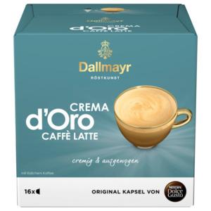Nescafé Dolce Gusto Dallmayr Crema d'Oro Caffé Latte 160g, 16 Kapseln