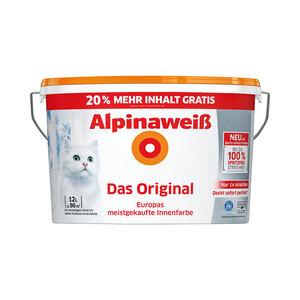 "Alpina              Alpinaweiß ""Das Original"" spritzfrei, 12 L"
