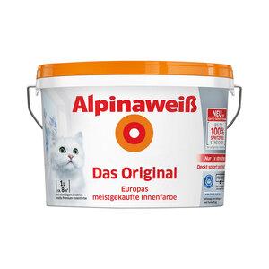 "Alpina              Alpinaweiß ""Das Original"", Spritzfrei, Matt, 1 L"