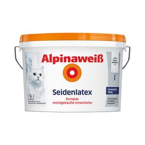 Alpina              Alpinaweiß Seidenlatex, 1 L