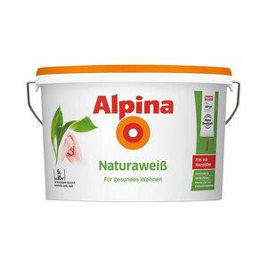 Alpina              Alpina Naturaweiß, 5 L