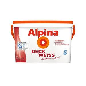 Alpina              Deckweiß, 10 L