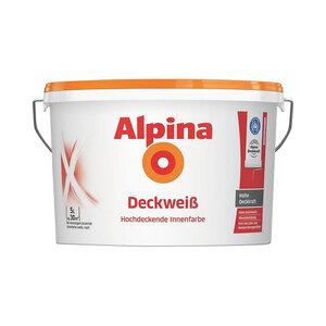 Alpina              Deckweiß 5 L