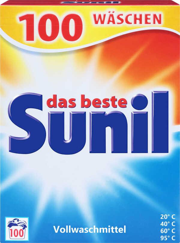 SUNIL  Waschmittel