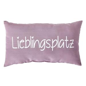 Zierkissen Lieblingsplatz (30x50, altrosa)