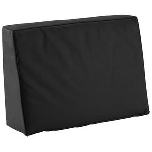 Palettenkissen (40x60, Rückenkissen, schwarz, wasserabweisend)