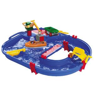 Simba Wasserbahn blau, multicolor , 8700001501 , Kunststoff , 51x46x10.5 cm , 004500039202