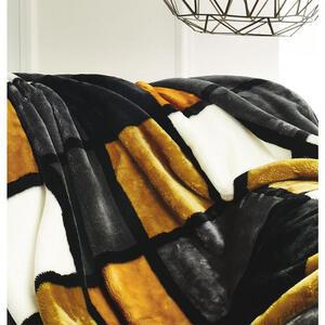 Novel Wohndecke 150/200 cm multicolor , Antigua , Textil , Karo , 150x200 cm , Mikrofaser , pflegeleicht , 004118012109