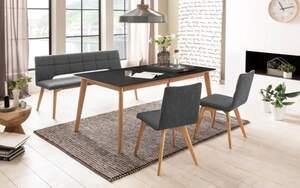 Standard Furniture Factory - Bankgruppe 3088 aus Eiche bianco/grau