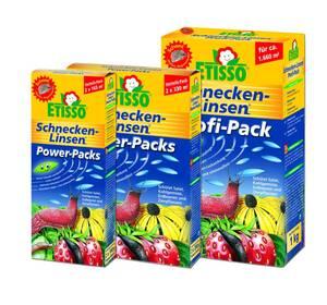 Schneckenlinsen Power Packs Etisso