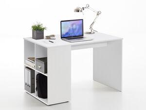 FMD Schreibtisch »GENT«, klassisches Design, pflegeleicht, platzsparend, 4 Ablageflächen