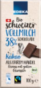 EDEKA Bio-Schweizer-Schokolade