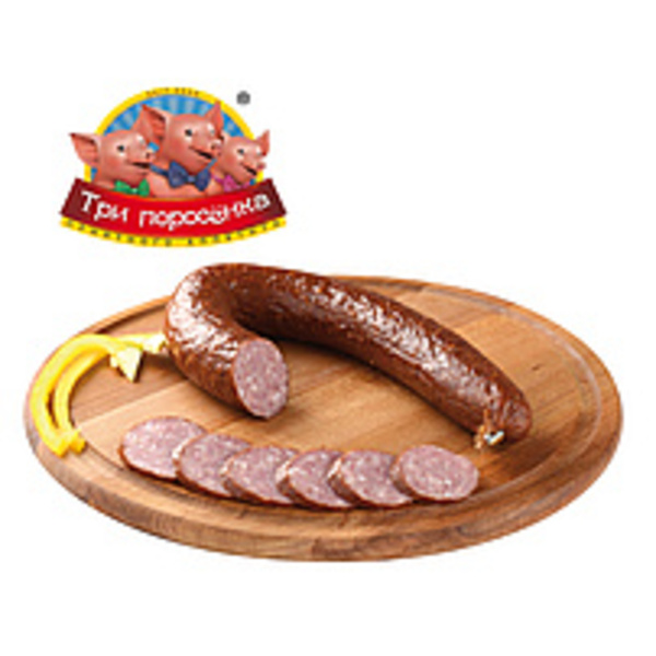 "Brühwurst nach Krakauer Art fein, geräuchert ""Domashnaya"""