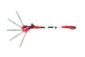 Grizzly Elektro Heckenschere EKHS 500-45 2in1 ,  500 Watt, 41 cm Schnittlänge