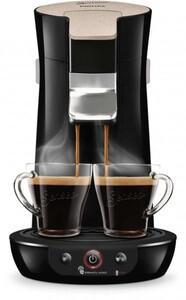 Philips Senseo Kaffeepadautomat HD6562/32 ,  1-2 Tassen, 0,9 Liter Wassertank