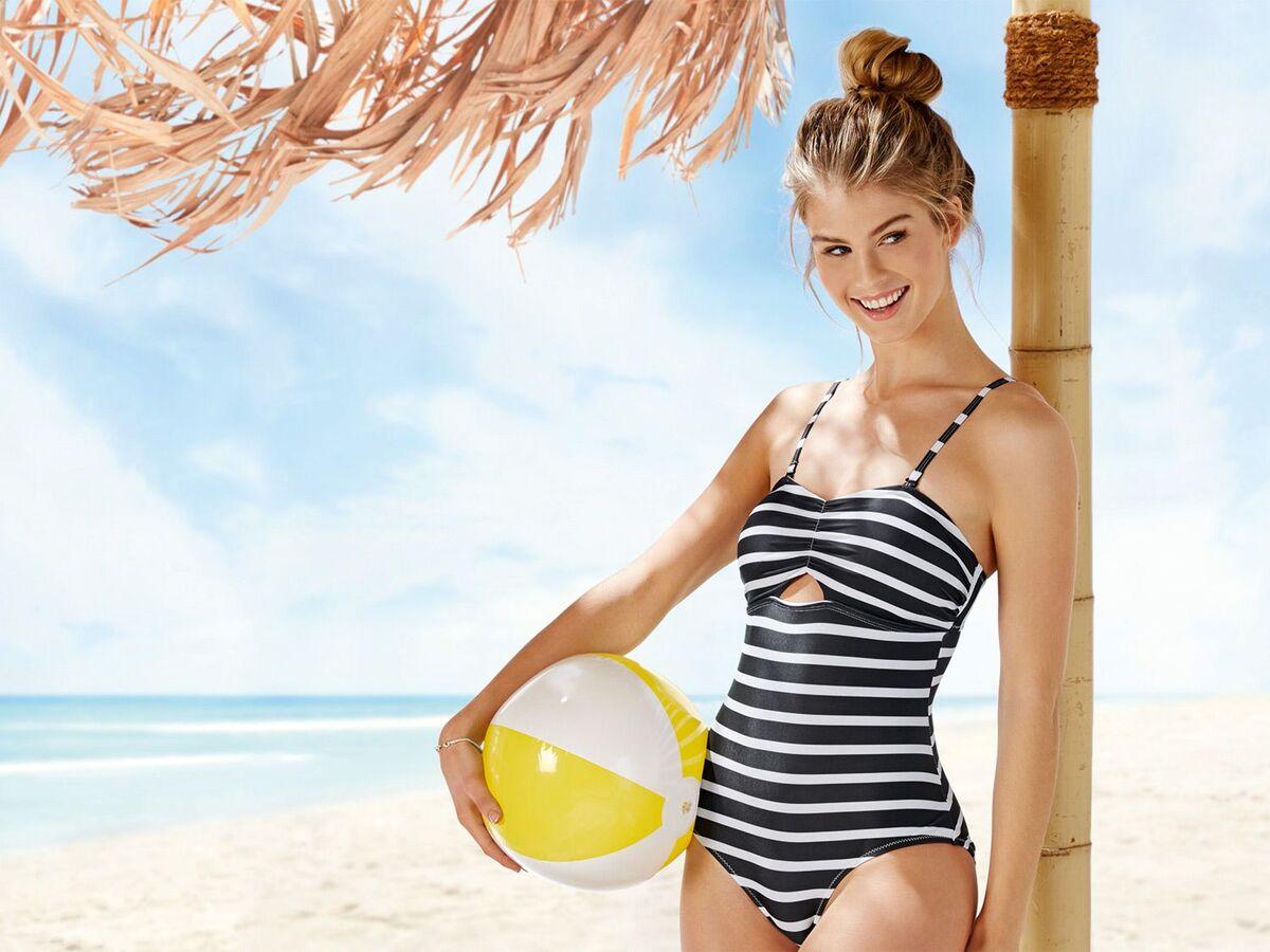 Bild 2 von ESMARA® Badeanzug, optimale Passform durch Elasthan, gefüttert