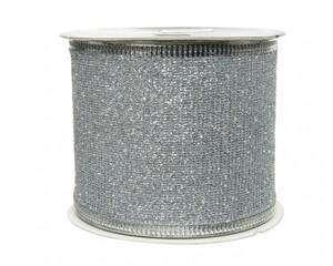 Kaemingk Band Glitter ,  silber,270 x 6.3 cm