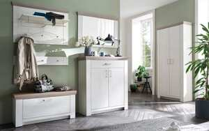MCA furniture - Garderobenkombi Bozen in Pinie Aurelio-Optik/Eiche Nelson-Optik
