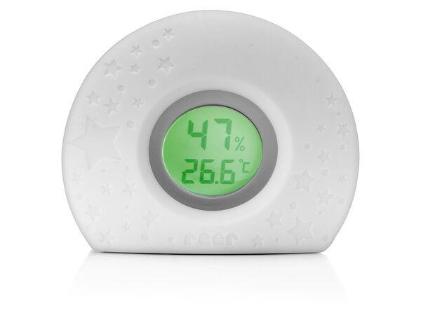 Reer Raumklimaüberwachung »Hygro Temp«, 4-Farben-Temperaturlicht, LCD-Display