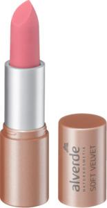 alverde NATURKOSMETIK Soft Velvet Lippenstift Nr. 10 Rose Blossom