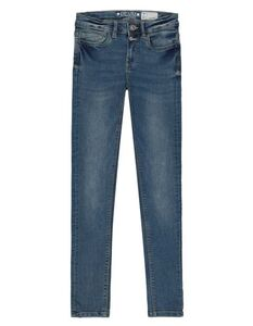 Damen Skinny Fit Jeans mit Knopfleiste