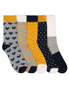 Damen Socken im 5er-Pack