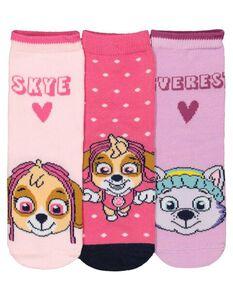 Mädchen PawPatrol-Socken im 3er-Pack