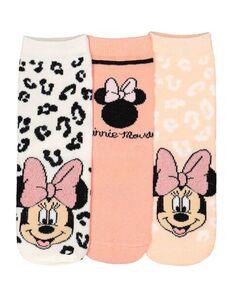 Mädchen Minnie Mouse-Socken im 3er-Pack