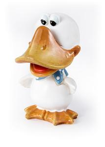 Deko-Figur Brillenhalter Ente