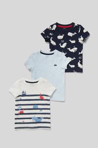 Baby-Kurzarmshirt - 3er Pack