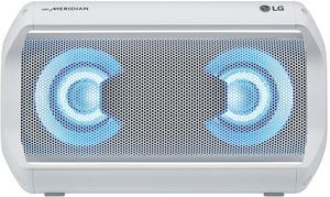 LG XBOOM Go PK5W Bluetooth Lautsprecher, 20 Watt Weiß