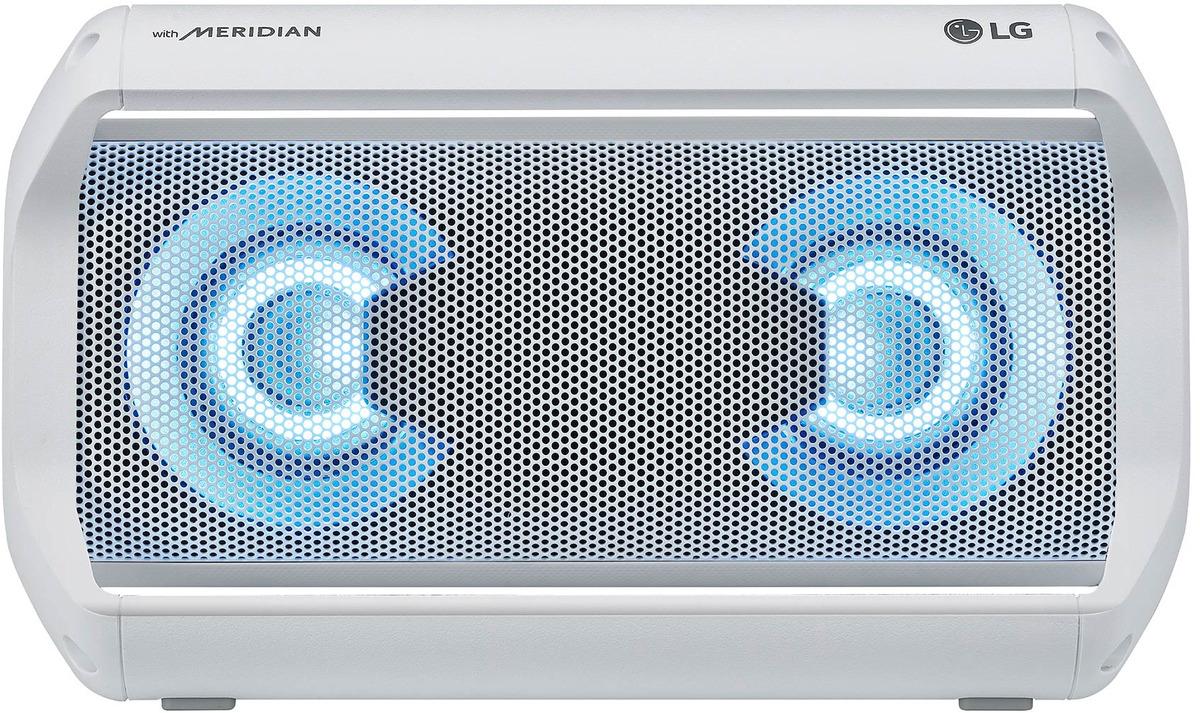 Bild 1 von LG XBOOM Go PK5W Bluetooth Lautsprecher, 20 Watt Weiß