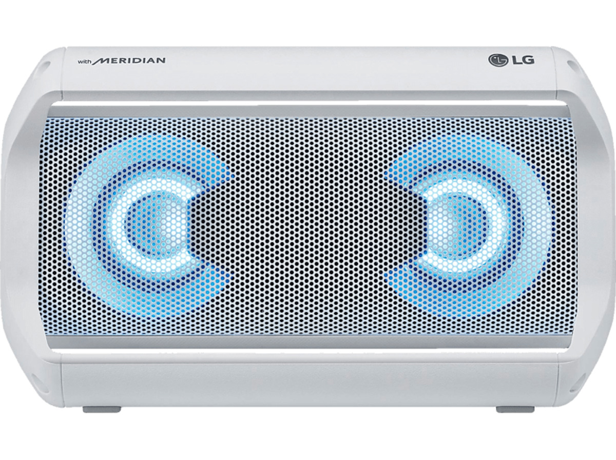 Bild 2 von LG XBOOM Go PK5W Bluetooth Lautsprecher, 20 Watt Weiß