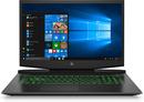 Bild 1 von HP Pavilion 17-cd0231ng, Gaming Notebook mit 17.3 Zoll Display, Core™ i7 Prozessor, 16 GB RAM, 1 TB SSD, GeForce GTX 1660 Ti Max-Q, Schwarz/Chrom/Grün
