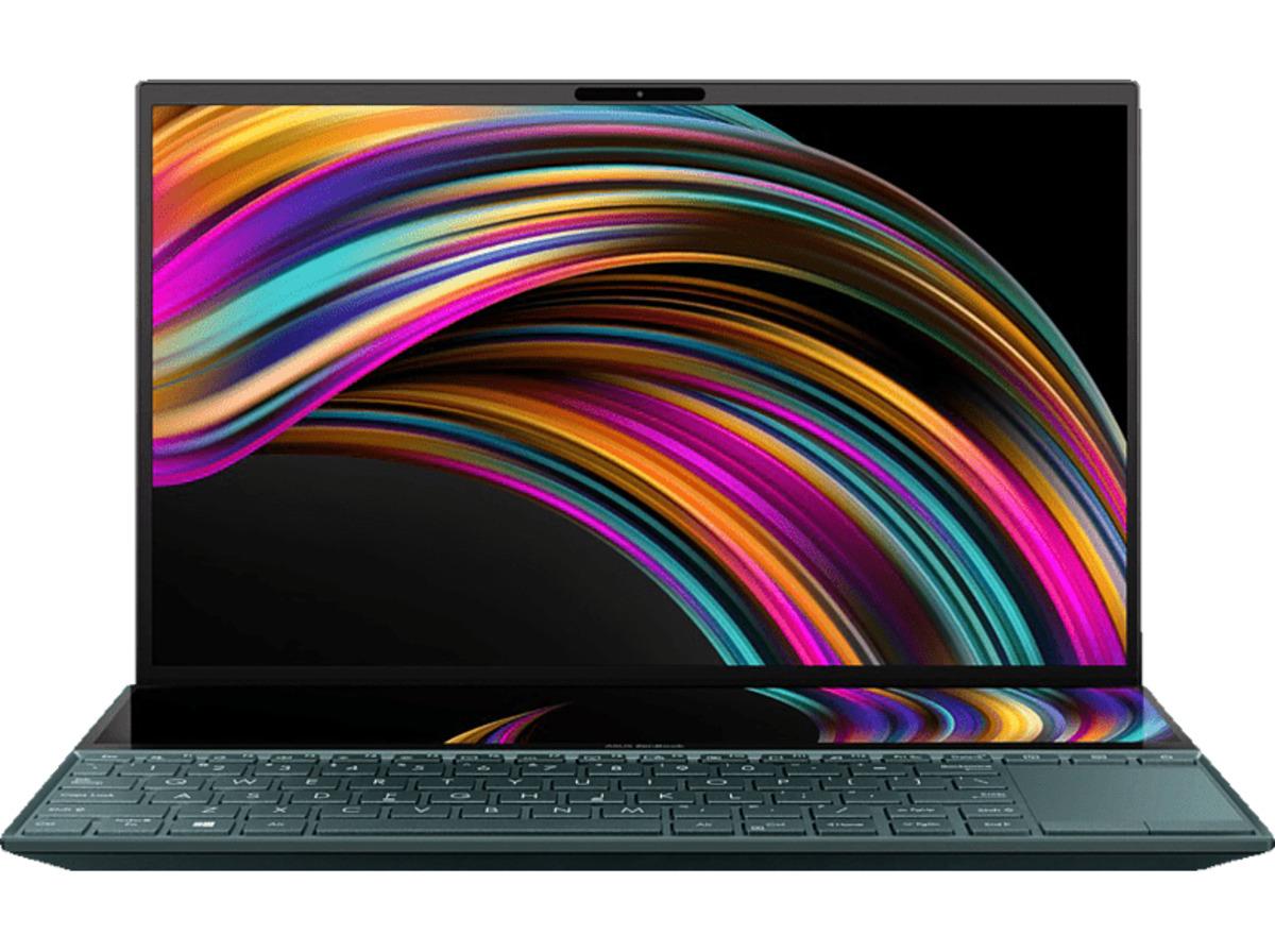 Bild 2 von ASUS ZenBook Duo (UX481FA-BM018T), Notebook mit 14.0 Zoll Display, Core™ i5 Prozessor, 8 GB RAM, 512 GB SSD, Intel® HD-Grafik 620, Celestial Blue