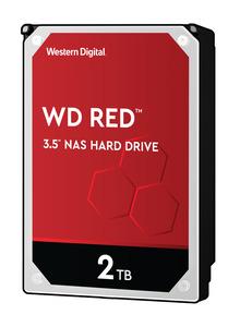 WD Red™ NAS-Festplatte 2 TB, BULK, 2 TB HDD, 3.5 Zoll, intern