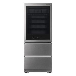 LG SIGNATURE LSR200W Weinkühlschrank/Kühlgefrierkombination (225 kWh/Jahr, EEK A++, Edelstahl)